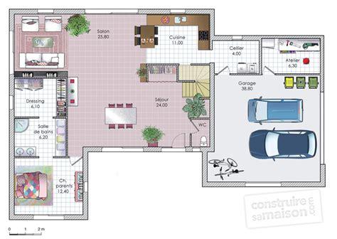 maison moderne et fonctionnelle d 233 du plan de maison moderne et fonctionnelle faire
