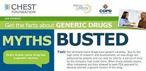 Generic Drugs: Separating Fact from Fiction | COPD ...