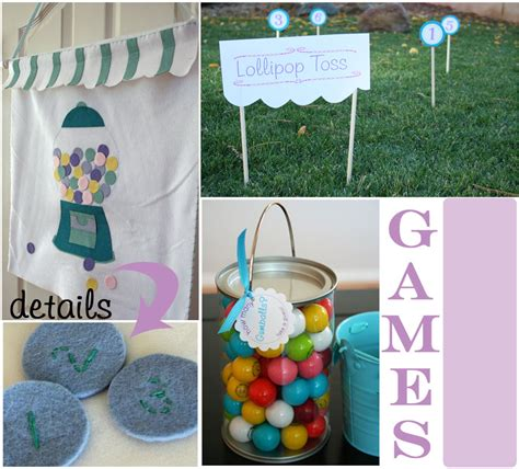 Candy Themed Party  Sweet Shoppe Party  Thoughtfully Simple