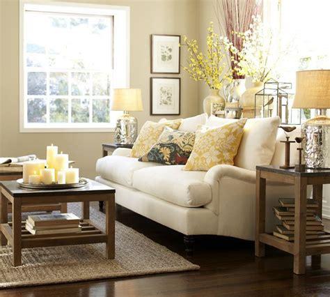 pottery barn my living room inspiration