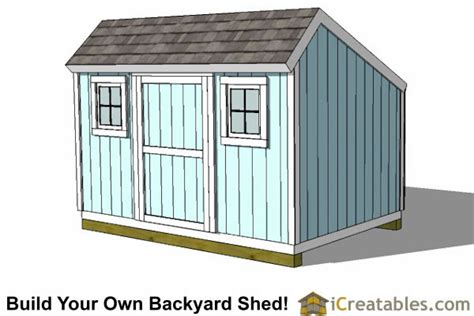 8x12 saltbox shed plans storage shed plans icreatables