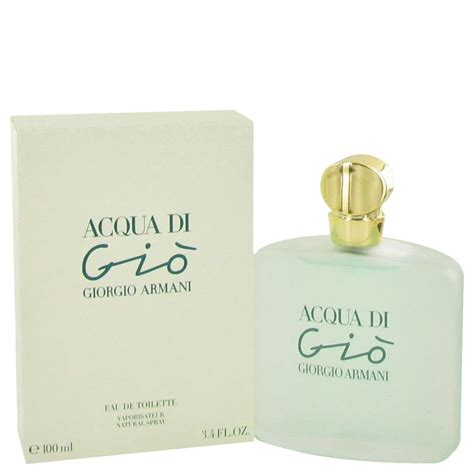 acqua di gio by giorgio armani eau de toilette spray 3 3 oz for ebay