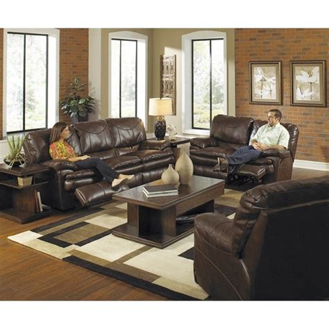 catnapper perez 3 power reclining leather sofa set