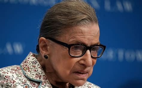 Ruth Bader Ginsburg Hospitalized After Falling, Fracturing