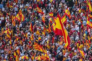 Spain's National Day sees protests against Catalonia's bid ...