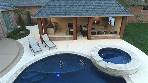 Pool Cabana Design With Outdoor Kitchen Stacking Dining Room Chairs Area Rugs War Game Rules Small Wet Design Light Fixtures Ideas Living Pop Ceiling Designs Laundry Organization