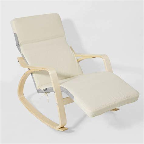 sobuy 174 rocking chair fauteuil 224 bascule fauteuil ber 231 ante chaise fst16 sch fr ebay