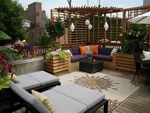 Gestaltung Von Terrassen : sch ne terrasse einrichten 100 tolle ideen ~ Markanthonyermac.com Haus und Dekorationen