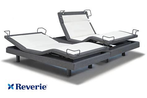 reverie 8q adjustable bed base split king in home delivery