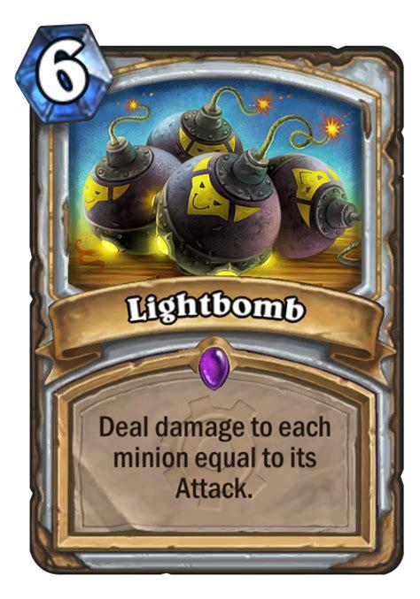 lightbomb hearthstone card