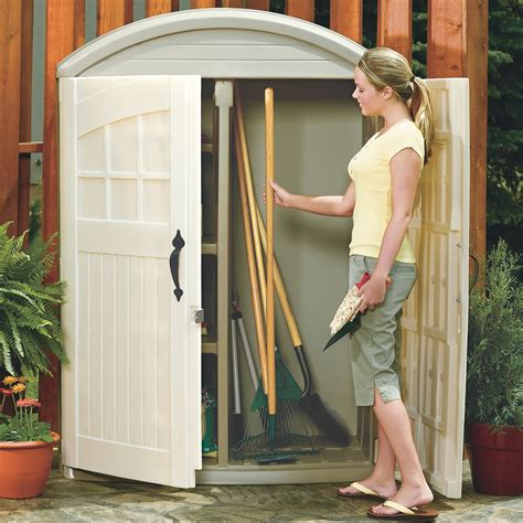 lifescapes highboy storage shed storage by step2