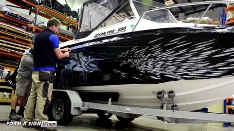 Bass Pro Ocean Boats by Bass Straight Ocean Pro Wrap Youtube