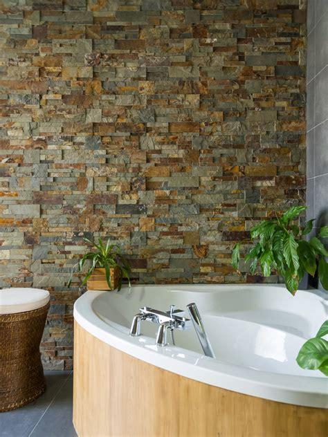 les plaquettes de parement donnent du style 224 la salle de bains leroy merlin