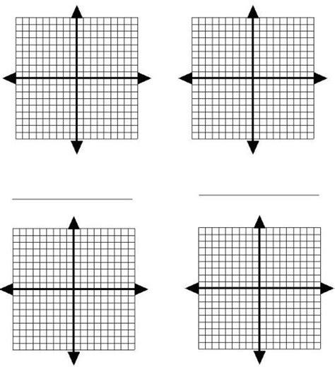 8 Best Images Of Blank Cartesian Coordinate Worksheets  Coordinate Plane Graph Paper