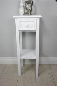 Tisch Weiß Holz : telefontisch konsole tisch wei antik landhaus beistelltisch holz schublade neu ebay ~ Markanthonyermac.com Haus und Dekorationen