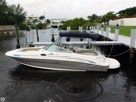 Used Sea Ray Sundeck Boats For Sale by 2005 Used Sea Ray 240 Sundeck Deck Boat For Sale 22 500