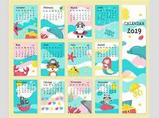 Download Cute Calendar 2019 Printable Template March