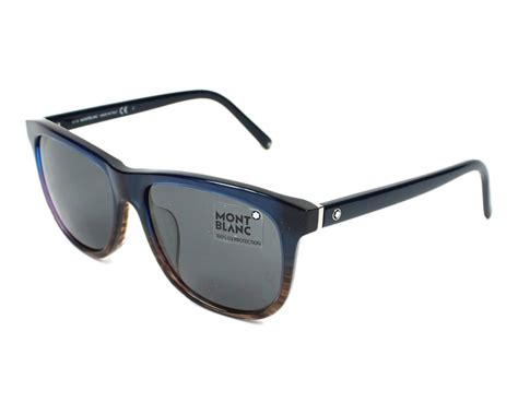 lunettes de soleil mont blanc mb524t 92a 58 visionet