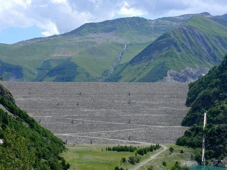 galerie d images barrage de grand maison vaujany 1985 structurae