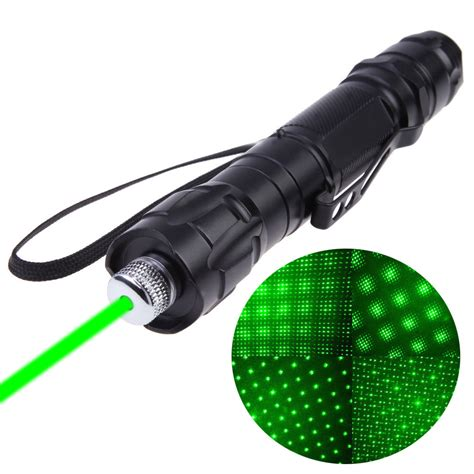new 1000 to 8000 meters range 532nm green laser pointer pen powerful light visible beam us