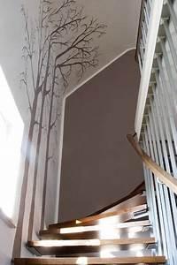 Holz Mit Wandfarbe Streichen : die besten 20 treppenhaus streichen ideen auf pinterest treppe streichen dachgeschossausbau ~ Markanthonyermac.com Haus und Dekorationen