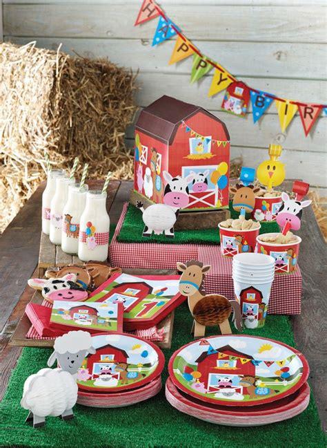 Farm Themed Birthday Party  Home Party Ideas