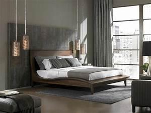 Moderne Lampen Schlafzimmer : schlafzimmer modern gestalten 48 bilder ~ Whattoseeinmadrid.com Haus und Dekorationen