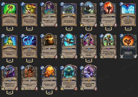 guide chaman neptulon gvg top 1 eu hearthstone heroes of warcraft goblin vs gnomes