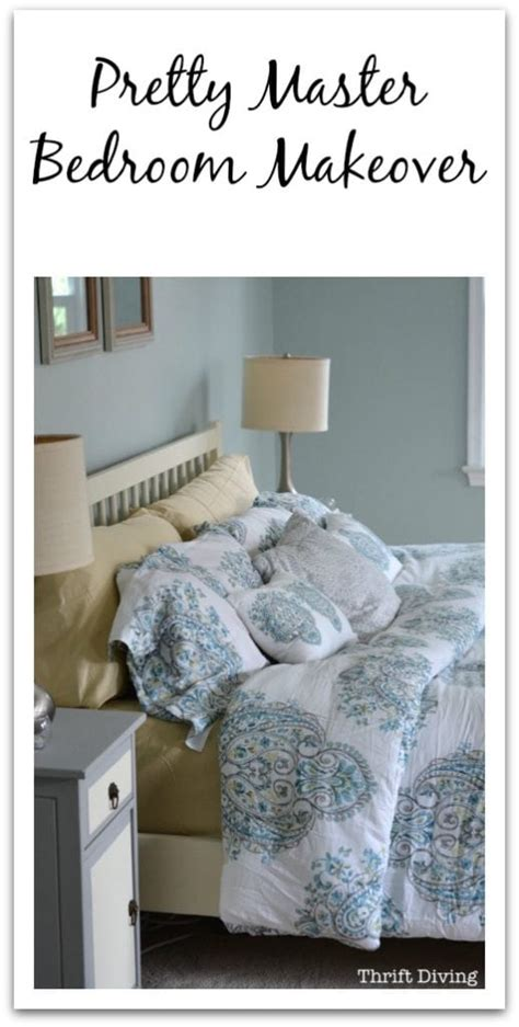 Before & After My Pretty Master Bedroom Makeover
