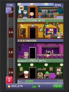 my tower has 47 floors things tiny tower is second