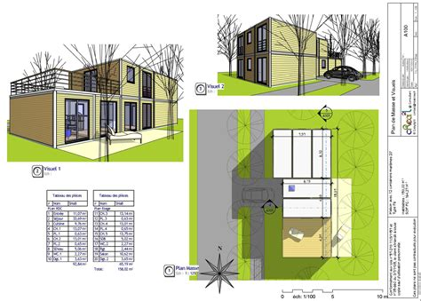 plan maison moderne 160m2 cool maison melesse with plan maison moderne 160m2 best maison m