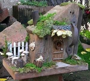 Coole Ideen Für Den Garten : gartenideen f r kleine g rten deko mit zauberwald thema ~ Markanthonyermac.com Haus und Dekorationen
