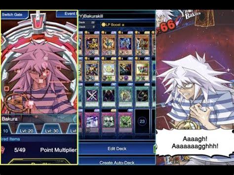 how to beat lvl 40 yami bakura yu gi oh duel links