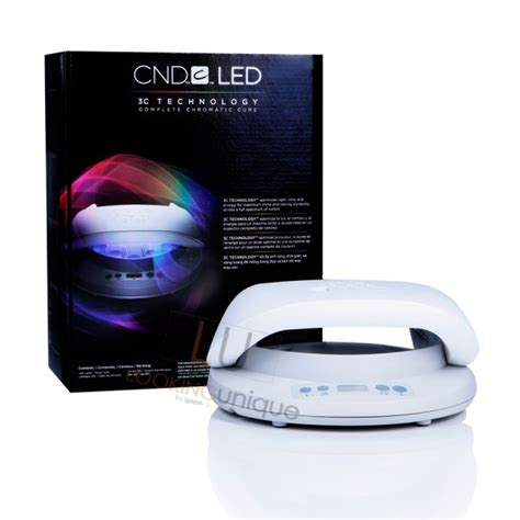 cnd shellac brisa led light l 3c technology complete chromatic cure looking unique