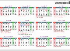 Download Kalender 2019 CDR PSD Lengkap