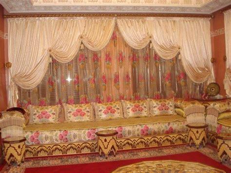 rideaux voilage pour salon du maroc