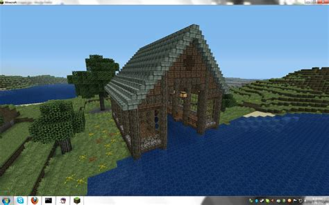 Minecraft Boat Building Guide by Minecraft How To Build A Boathouse How To Build A Boat