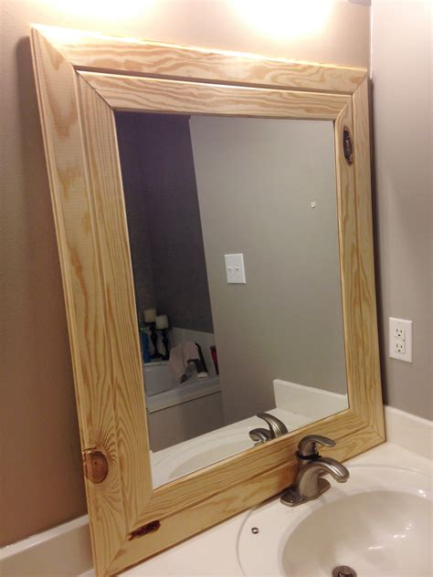 Diy Easy Framed Mirrors  Diystinctly Made. Double Window Curtains. L Shaped Kitchen With Island. Simple Chandelier. Fireplace Cabinets. Powder Room Vanity. Vanity Chair For Bathroom. Done Rite Roofing. Wrought Iron Counter Stools