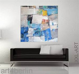Moderne Kunst Leinwand : farb elemente mischtechnik leinwand 140 140 cm original 990 euro art4berlin kunstgalerie ~ Markanthonyermac.com Haus und Dekorationen