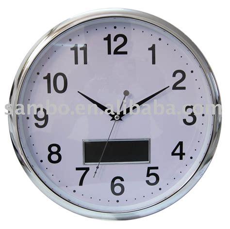 num 233 rique horloge murale avec jour affichage de la date horloge murale id de produit 374622703