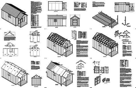 shed plans 10 x 20 my shed plans review what wood storage shed plans can you find inside