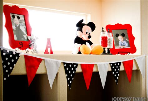 Mickey Mouse Birthday Party  Oopsey Daisy
