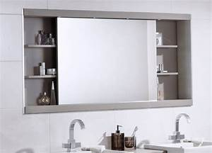 Spiegelschrank Mit Schiebetür : spiegelschrank f r bad die funktionalit t im modernen design ~ Markanthonyermac.com Haus und Dekorationen