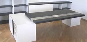 Schreibtisch Wohnzimmer Lösung : schreibtisch in schwarz wei h fele functionality world ~ Markanthonyermac.com Haus und Dekorationen