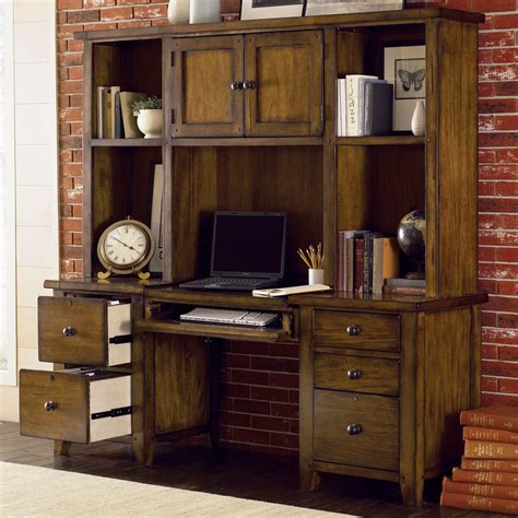 modular wall desk hutch by aspenhome wolf and gardiner wolf furniture