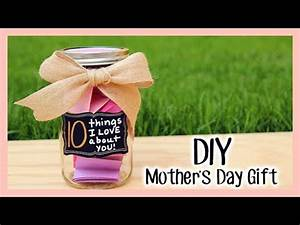 """DIY Mother's Day Gift """"10 Things I LOVE About You!"""" - YouTube"""