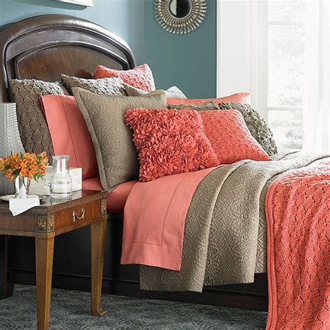take five decorating with coral and salmon the cottage