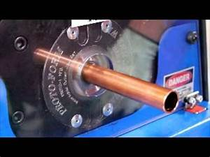 .75 Inch Copper Bead and Flare on CAM-2.5 Tube End Form ...