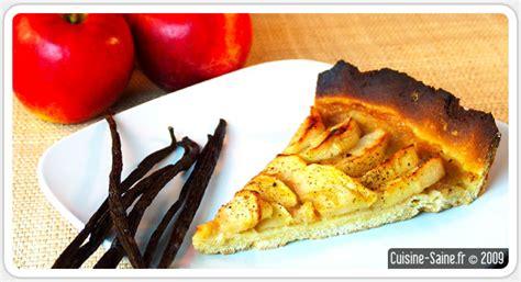 dessert bio sans gluten tarte aux pommes 224 la vanille