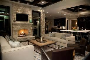 living room with fireplace fireplace wall with flatscreen tv niche